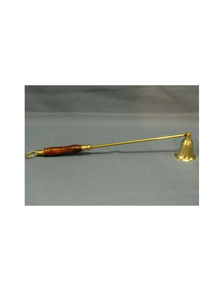 Snuffer with Wooden Handle