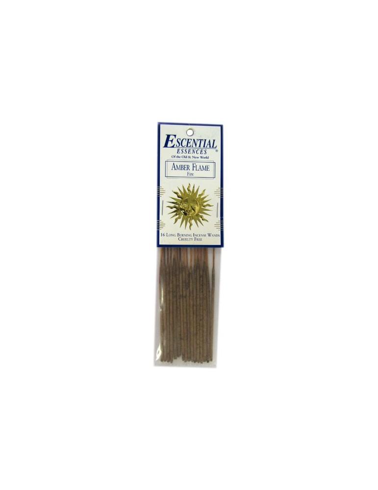 Amber Flame - Escential 16 Mini Incense Sticks