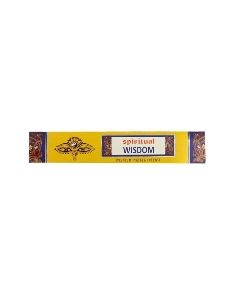 Spiritual Wisdom - 15 gms Incense Sticks