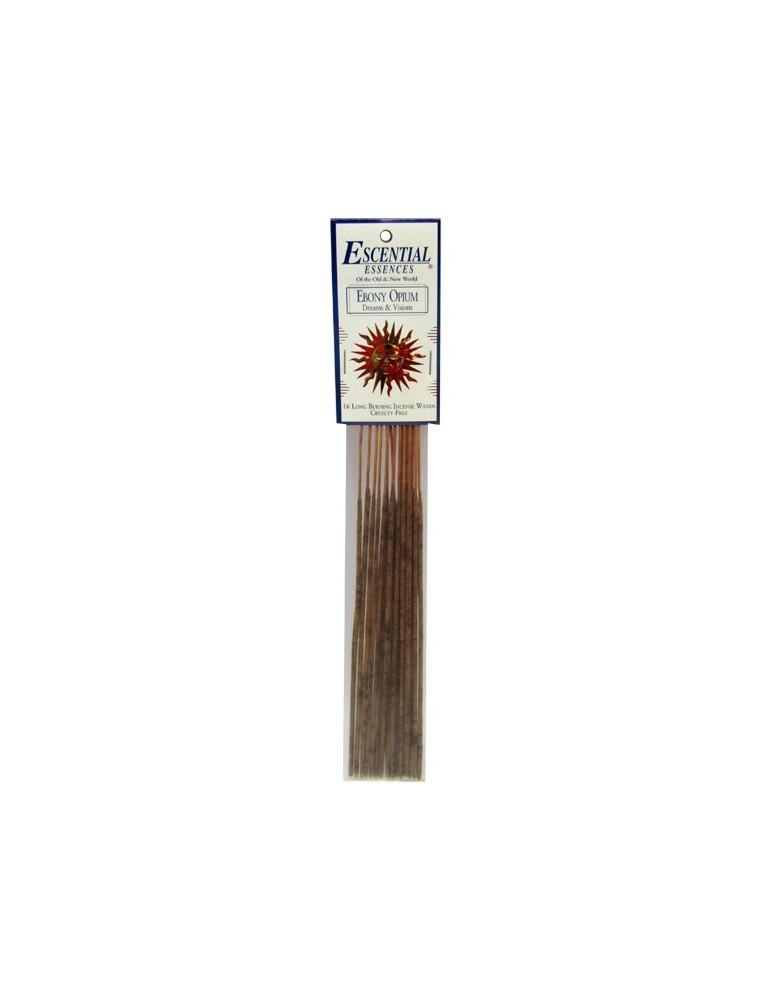 Ebony Opium - Escential 16 Mini Incense Sticks