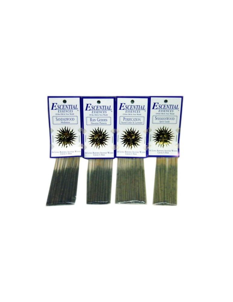 Tropical Rain - Escential 16 Mini Incense Sticks