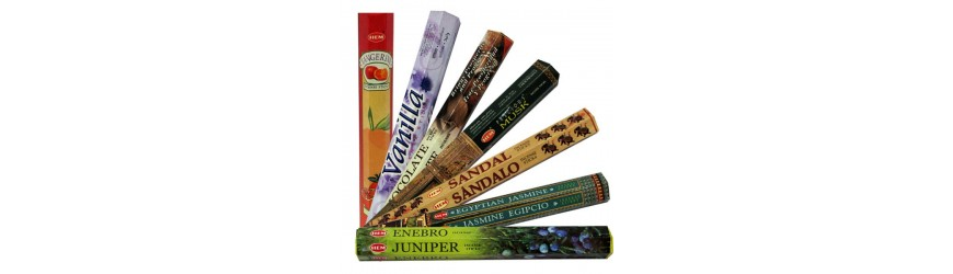 HEM incense sticks and cones
